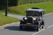Rod Wade in Austen Ritchie iz Avstralije, Ford Model A, l. 1930 title=